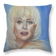 Ann Jillian Throw Pillow