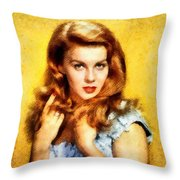 Ann-margert, Vintage Hollywood Actress Throw Pillow