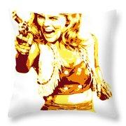 Ann Margret Throw Pillow