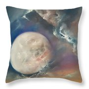 Anna Maria Moonset Throw Pillow