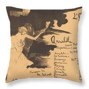Annabella ('tis Pity She's A Whore) Throw Pillow
