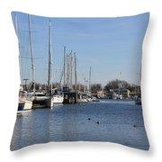 Annapolis - Harbor View Throw Pillow