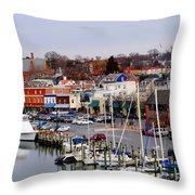 Annapolis Throw Pillow