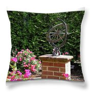 Annapolis Garden Ornament Throw Pillow