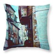 Anna's Street Throw Pillow
