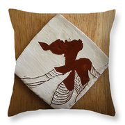 Anne Marie - Tile Throw Pillow
