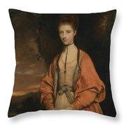 Anne Seymour Damer  Throw Pillow