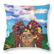 Anne Shirley Throw Pillow