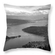 Annecy Lake Throw Pillow