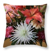 Anniversary Card Throw Pillow