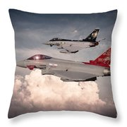 Anniversary Typhoons Throw Pillow