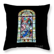 Annuciation Of Virgin Mary Mother Most Holy Throw Pillow