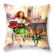 Anny Kilkenny Throw Pillow