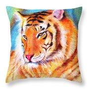 Ano Do Tigre Throw Pillow