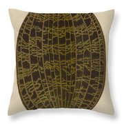 Anoectochilus Lowii  Throw Pillow