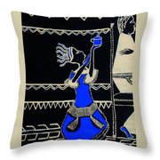 Anointing Of Jesus Christ Throw Pillow