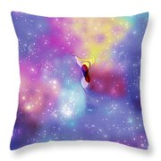 Anomaly In Space Throw Pillow