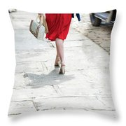 Anonymous 1940s Woman  Throw Pillow