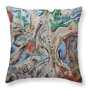 Another Branch Throw Pillow