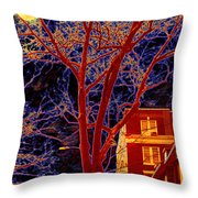 Another Brooklyn Night Throw Pillow