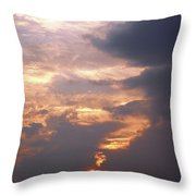Another California Sunset Throw Pillow