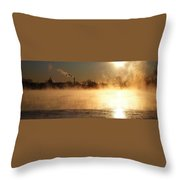 Another Cold Day Throw Pillow