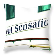 Another Cruiseliner Throw Pillow