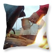 Another Cup Of Coffee Throw Pillow