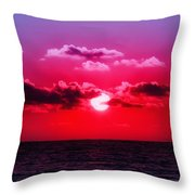 Another Day Another Sunset Throw Pillow