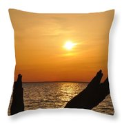 Another Day Done Throw Pillow