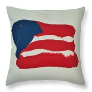 Flag Throw Pillow