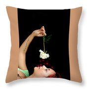Another Flower Throw Pillow