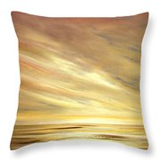 Another Golden Sunset Throw Pillow