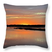 Another Hilton Head Island Sunset Throw Pillow