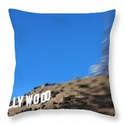 Another Hollywood Sign Throw Pillow