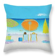 Another Perfect Beach Day Throw Pillow
