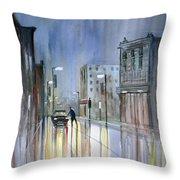 Another Rainy Night Throw Pillow