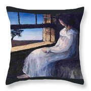 Another Sleepless Night Throw Pillow