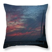 Another Sunrise At The Mam Throw Pillow