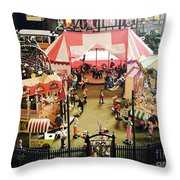 Another Time In This World Throw Pillow