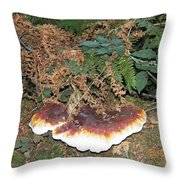Another Toadstool Throw Pillow