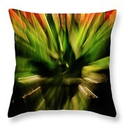 Another Tulip Explosion Throw Pillow