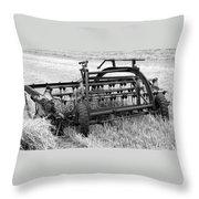 Rake The Hay Throw Pillow