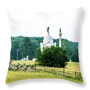 Another View Of The Pa Monument Throw Pillow