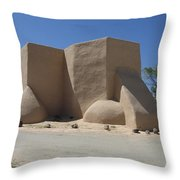Ansel's Church Throw Pillow
