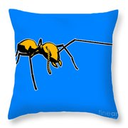 Ant Graphic  Throw Pillow