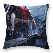 Ant Man 2015 Throw Pillow