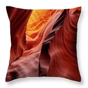 Antalope Canyon #2 Throw Pillow