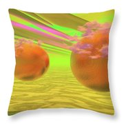 Antares And Company Throw Pillow