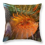 Antecedent To The Emergence Throw Pillow